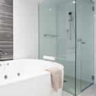 Bathroom/Framelss Glass Door